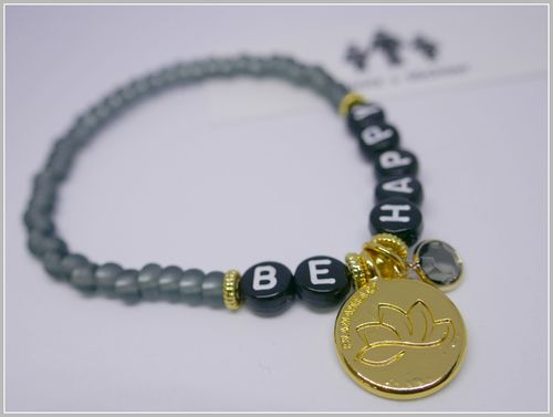 BE HAPPY | BUDDHA + GOLD